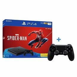 GAM SONY PS4 1TB F chassis + Spider-Man + dod. kontroler