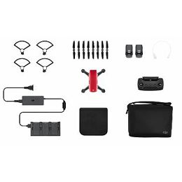 DJI SPARK Fly More Combo (EU) Lava Red CP.PT.000891