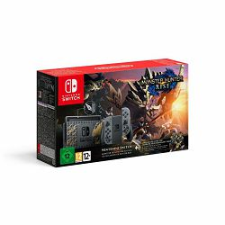 Nintendo Switch Console - Grey Joy-Con Monster Hunter Rise Limited Edition Bundle Preorder