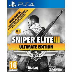 Sniper Elite III Ultimate Edition & 9 DLC Packs PS4