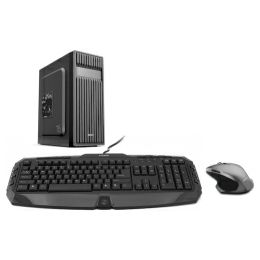 CRATOS OFFICE v1 MT 500W PC - Intel i3-8100, 4GB DDR4, 1TB HDD, Intel UHD, WIN 10 PRO + tipkovnica/miš