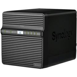 "Synology DS420j DiskStation 4-bay NAS server, 2.5""/3.5"" HDD/SSD podrška, 1GB DDR4, 1×G-LAN, Wake on LAN/WAN"