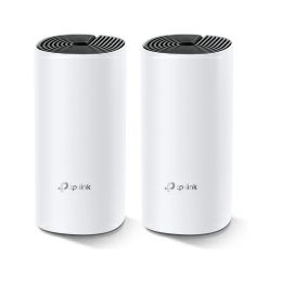 TP-Link AC1200 Deco M4 (2 pack) Whole-Home Mesh Wi-Fi, Dual-Band 300Mbps/867Mbps (2.4GHz/5GHz), 2×GLAN, 2×interna antena, MU-MIMO, AP Mode, IPv6 Ready, Deco App, Cloud Support, Alexa & IFTTT