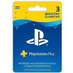 GAM SONY PS4 Plus Card 90 Days Hanger