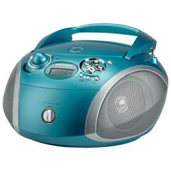 Grundig radio cd player GRB 2000 USB Aqua/Silver