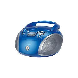 Grundig radio cd player GRB 2000 USB Blue/Silver