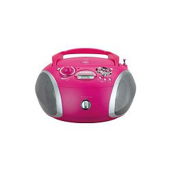 Grundig radio cd player GRB 2000 USB Pink/Silver