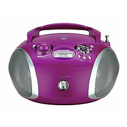 Grundig radio cd player RCD 1445 USB Purple/Silver