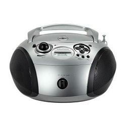Grundig radio cd player GRB 2000 USB Silver/Black