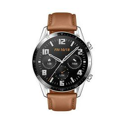 Huawei Watch GT2, 46 mm, Classic, smeđi remen