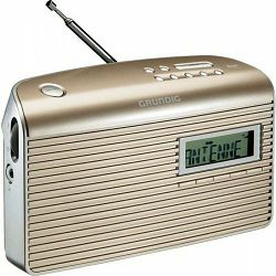 Grundig digitalni radio Music CS 7000 DAB+ Champagne / Silve