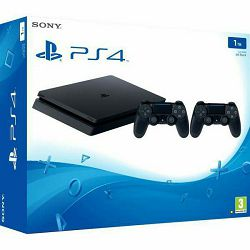 PlayStation 4 1TB F chassis + Dualshock Controller v2 + The Last of Us 2
