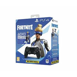PS4 Dualshock Controller Black v2 + Fortnite VCH (2019) 500 Vbucks