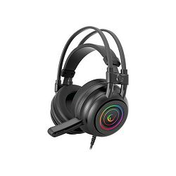 Slušalice Rampage RM-K2 X-QUADRO RGB s mikrofonom, 7.1 Surround Sound, PC/PS4/Xbox, USB